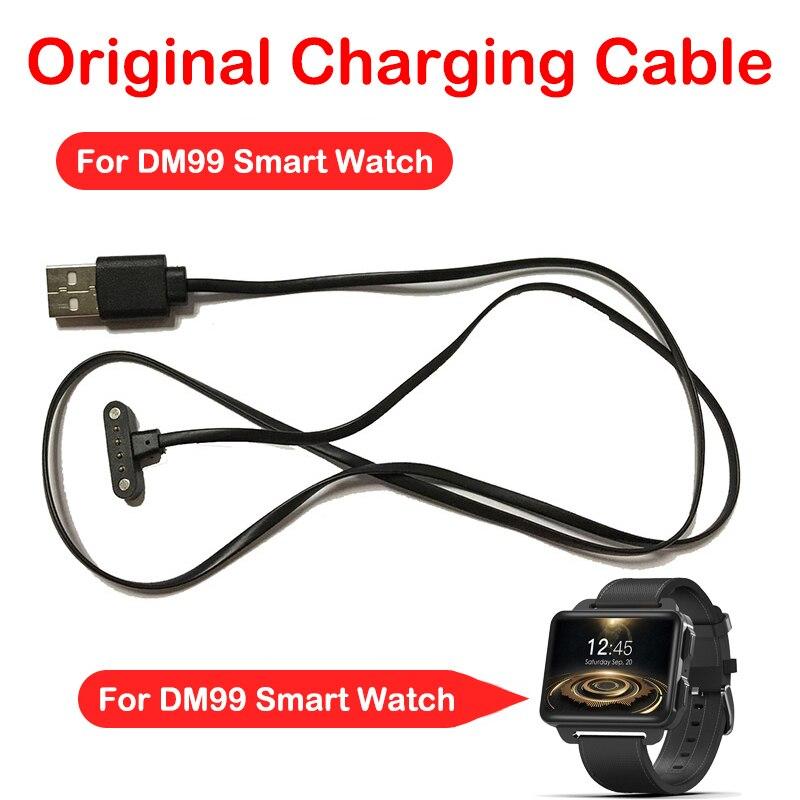 Cable de carga Original para reloj inteligente DM99 Cable cargador USB para reloj de pulsera DM99 reloj de reemplazo carga USB de alta calidad