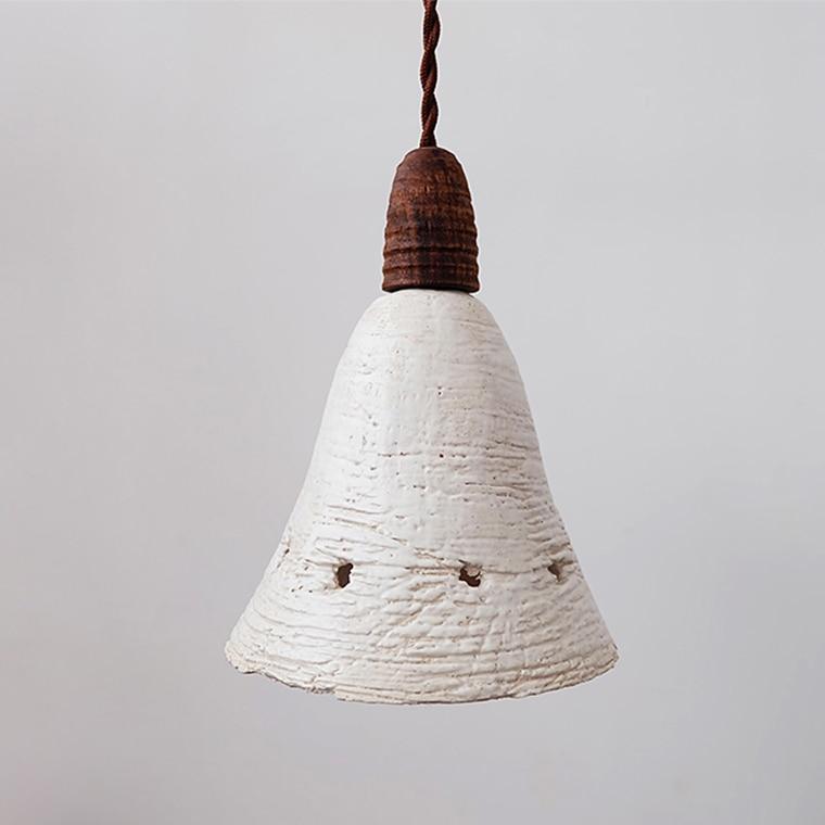 Lampe nordique chambre pendentif LED luminaires bois Loft décor Vintage lampes industrielles en céramique rétro lampes suspendues Lumiaire