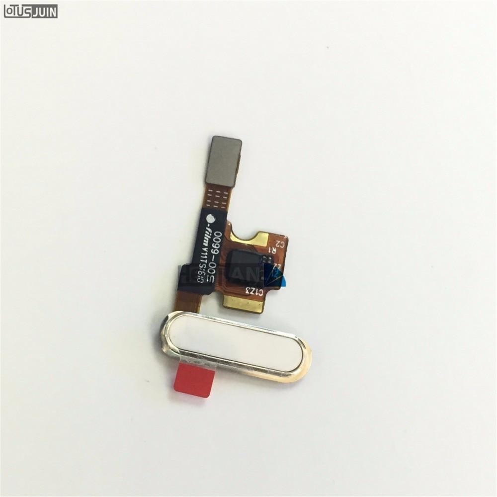 1 Uds botón de inicio huella dactilar Flex Cable volver clave para...