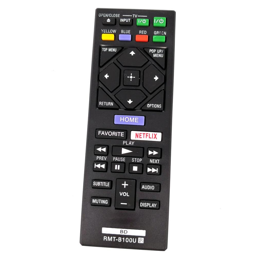 New Replace Remote Control RMT-B100U For Sony BDP-S1500 BDP-S3500 BDP-S4500 BDP-S5500 BD Fernbedienung