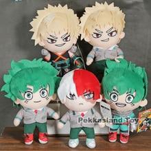 Animé caliente My Hero Academia Izuku midoriya/bakugou katsuki/Todoroki muñeco de peluche regalo 7 pulgadas 19cm