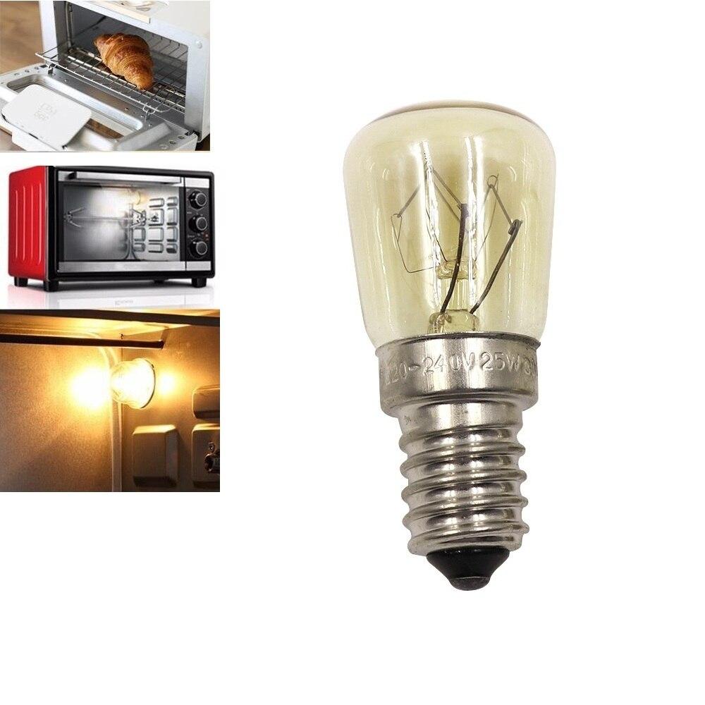 Bombillas led e14, bombillas de filamento LED para horno, bombillas amarillas de alta resistencia a la temperatura, lámpara led para horno microondas de 300 grados