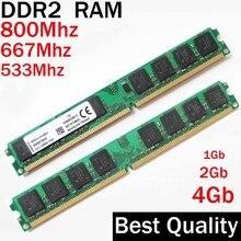 1G 2G 4Gb DDR2 800 667 533 Mhz mémoire RAM DDR2 2Gb 800 Mhz/1 2 4 gb ddr2 4 gb 800 ddr 2 PC2-6400 mémoire mémoire RAM Ddr2