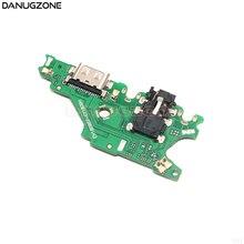 30 stks/partij Voor Huawei Mate 20 Lite USB Opladen Dock Jack Plug Socket Port Connector Lading Board Flex Kabel