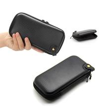 Accessoires de voyage sac pour écouteurs Portable électronique organisateur de câble pochette organisateur numérique USB sac rigide boîte