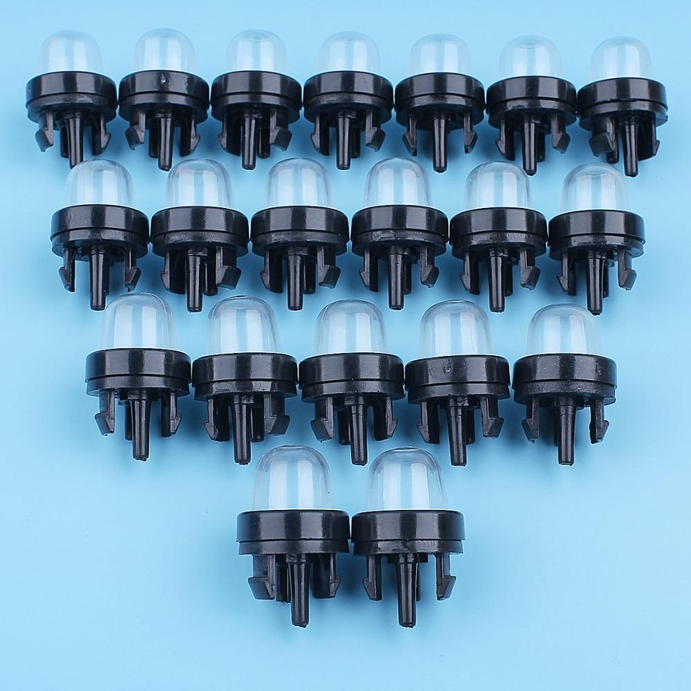 20 unids/lote Snap en Primer bombilla para Walbro 188-512-188-512-1 Poulan Ryobi artesano Homeliter STHIL Zama eco McCulloch carburador