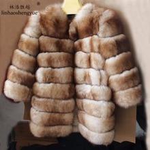 Linshegnhaoyue  Real fur Imitation sable fox fur women coat warm  freeshipping winter