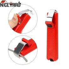 NICEYARD 8-28mm couteau à dénuder Mini électricien couteau PVC câble couteau à dénuder poignée en plastique fil réglable