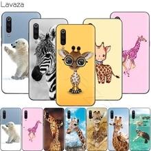 Lavaza bebê girafa animal caso para xiaomi redmi nota 8 8a 7 6 6a 5 5a 4 4x 4a ir pro plus prime