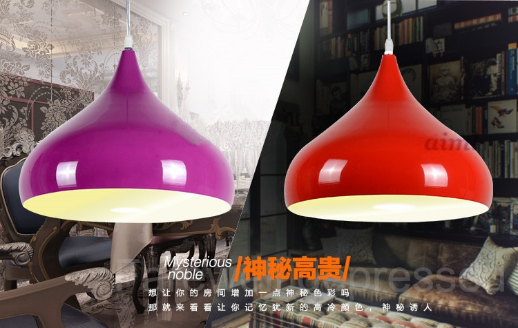 Factory direct salesLED bar cafe restaurant study bedroom 21w-30w single head creative personality droplight 110v-240v  - buy with discount