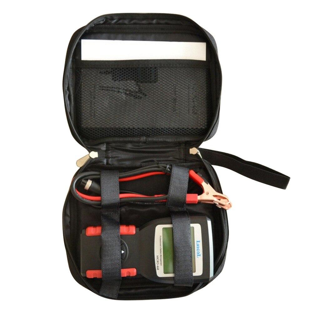 Портативный цифровой анализатор аккумуляторов CCA, 12 В, для автомобиля, для диагностики аккумуляторов и автомобилей, прибор для диагностики ...