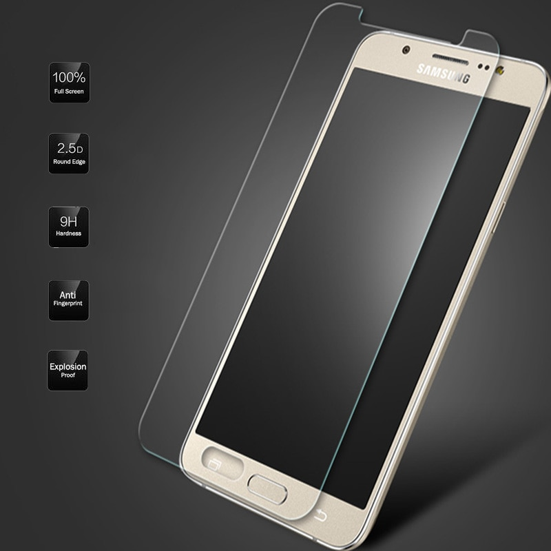 2.5D 9H vidrio templado para Samsung Galaxy J5 J7 J1 2016 2015 Grand Prime S5 Neo G903F S4 S6 protector de pantalla Premium cubierta de película