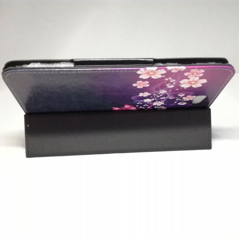 Myslc impreso Pu cubierta de cuero para trekstor SURFTAB BREEZE 7,0 QUAD LTE 7 pulgadas Tablet soporte magnético funda