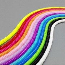 20 pcs/lot bonbons couleurs printemps manchon de protection tablette Mobile spirale cordon protecteur pour téléphone portable iPhone chargeur écouteurs cordons