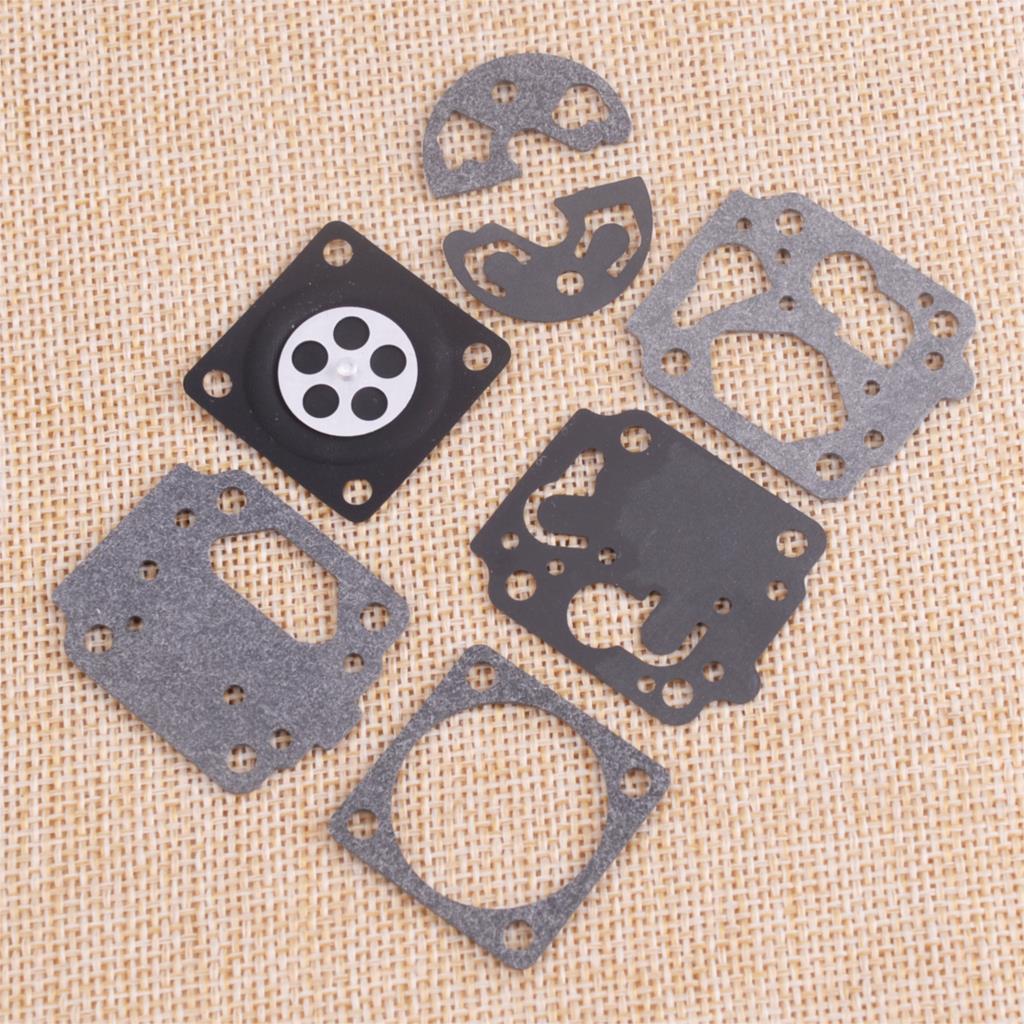 Kit de reparo preto do carburador de letaosk 99909-163 apto para shindaiwa b530 c250 le250 le260 t260 t261