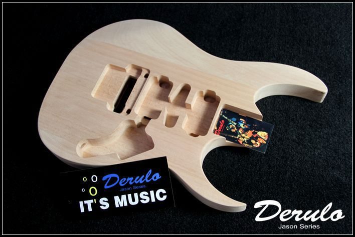 Caoba guitarra eléctrica cuerpo kit de guitarra eléctrica kits