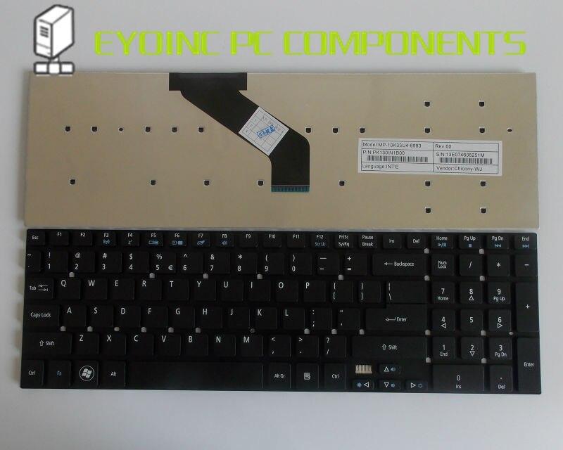 Original US Laptop Tastatur für Acer Aspire E1-572 E1-572G E1-731 E1-731G E1-771 E1-771G E1-570-6615 E1-532G Schwarz