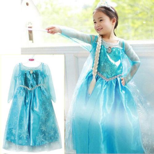 Карнавальный костюм принцессы высокого качества для девочек, детское вечернее платье, SZ От 3 до 8 лет