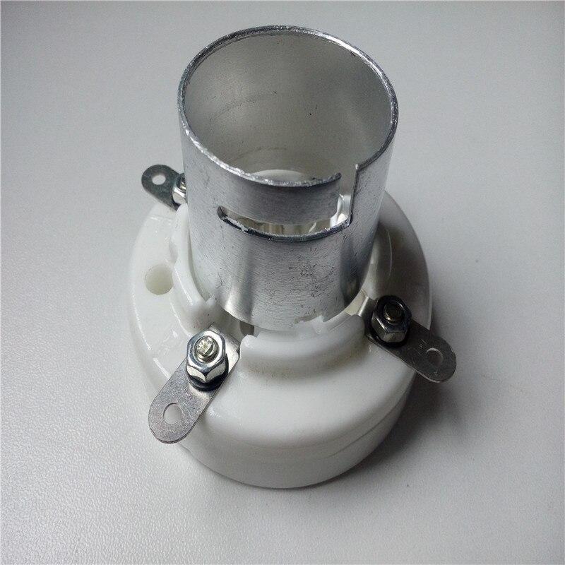 1 Uds. Tubo de cerámica de 4 clavijas de tubo de GZC4-1B pie plateado para 300B 2A3 811 amplficador de tubo
