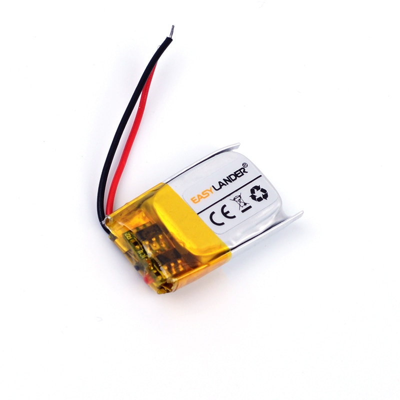5x12x21 3,7 V 90mAh batería recargable de iones de litio de polímero de litio para auriculares bluetooth ratón pulsera reloj de pulsera 501221 051221 481221