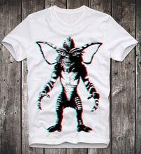 T Shirt Gizmo Mogwai Gremlins Cult Horror Movie Fun Funshirt 3D Retro Vintage Design T Shirt Men'S High Quality Cartoon