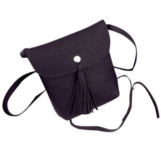 TFTP-New Summer Bag Satchel Bag Mobile Phone Fashion Shoulder Bag Tassel Bag