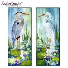 Sophie Beauty new diy diamond painting full cross stitch resin crystal embroidery mosaic Bird needlework craft art kits C222