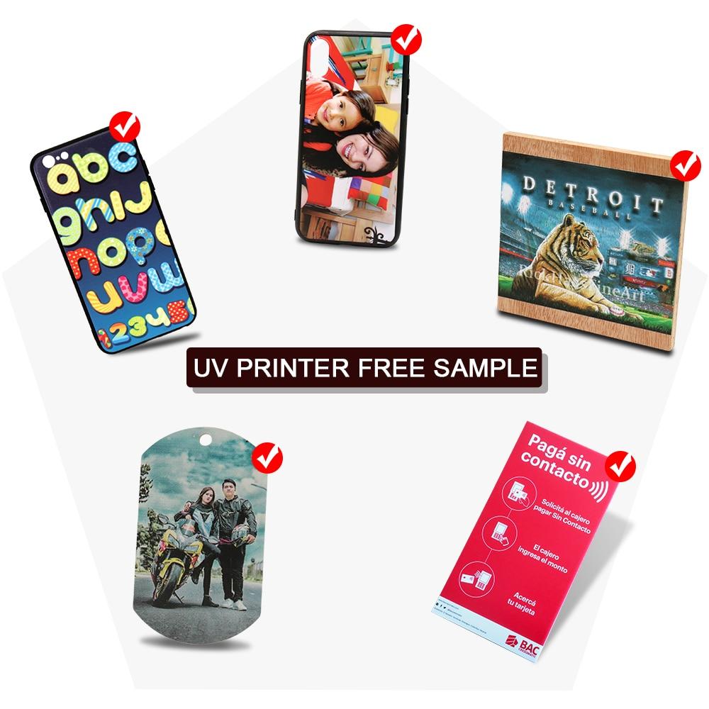 Бесплатный образец Colorsun для А4, А3, УФ-принтер, чехол для телефона с рисунком, кожа, металл, для стекла, акрила, древесины