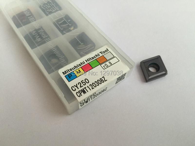 Inserções de Carboneto Peças Autêntico Original Hitachi Cnc Inserção Cpmt120308z 10 100%