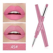 Miss Rose брендовая 12 видов цветов, долговечная подводка для губ, матовый водонепроницаемый карандаш для губ увлажняющие губные помады, макияж, косметика для контурирования