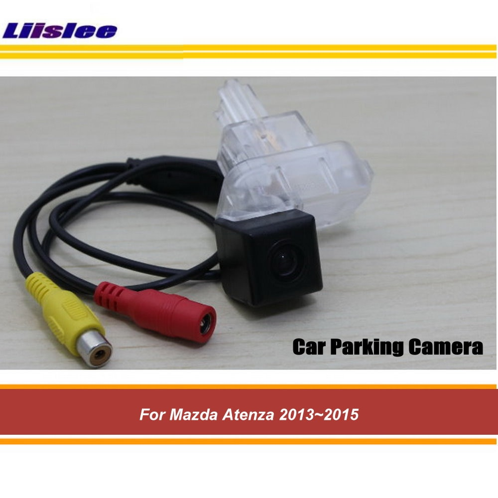 Фото - Парковочная камера заднего вида для Mazda Atenza 2013, 2014, 2015, камера заднего вида для SONY CCD III штатная магнитола wide media wm vs7a706 oc 2 32 rp 11 354 70 для fiat ducato iii 2006 2013 ducato iv 2013 2018 android 8 0 камера заднего вида в подарок