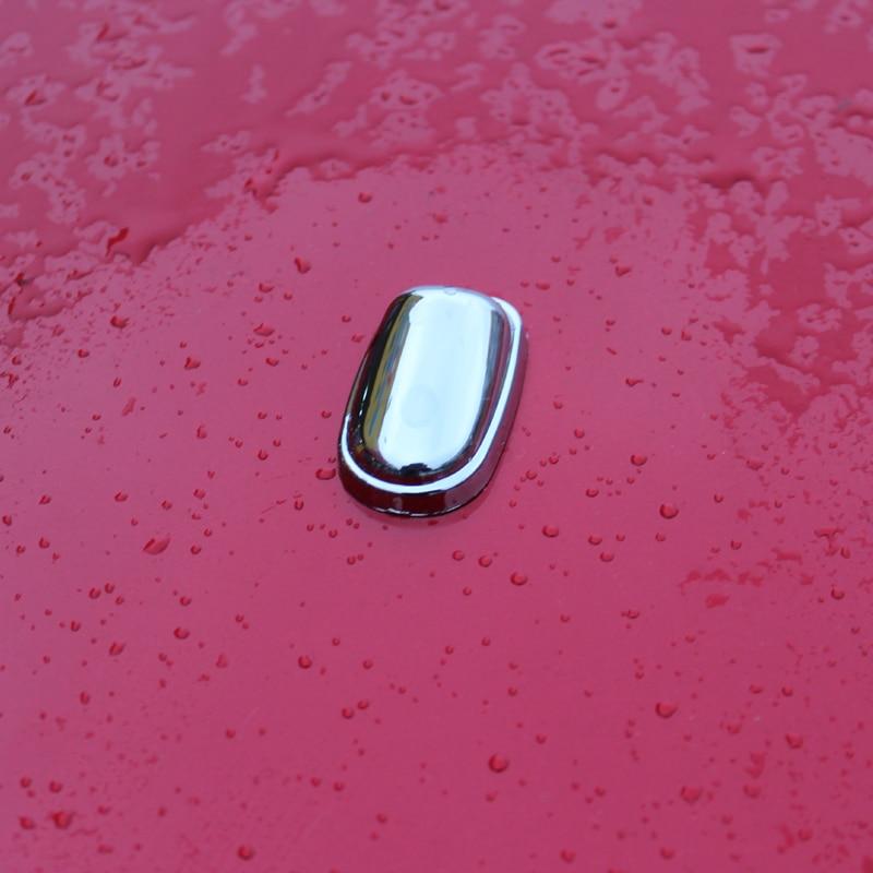 2 unids/set ABS cromo aspersor boquilla de pulverización de agua limpiador de chorro de agua de adornos para Ford Focus 2 3 4 MK2 MK3 MK4 estilo de coche