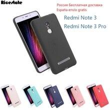 For Xiaomi redmi note 3 Case Cover xiaomi redmi note 3 pro case Ricestate Super Frosted Shield back cover Redmi Note3 soft case