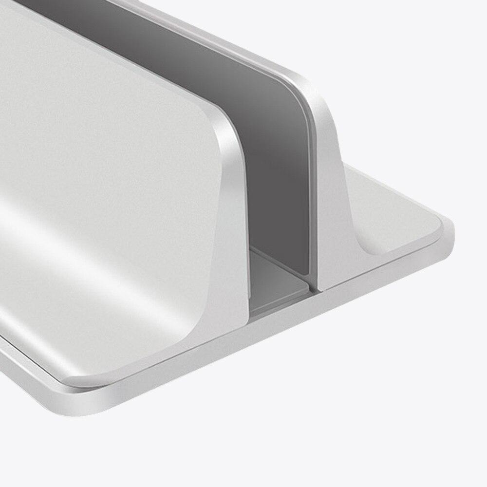 Suporte ajustável vertical de alumínio do portátil para o ar de macbook/pro 16 13 15 ipad pro espaço de ar-economia desktop notebook suporte rack