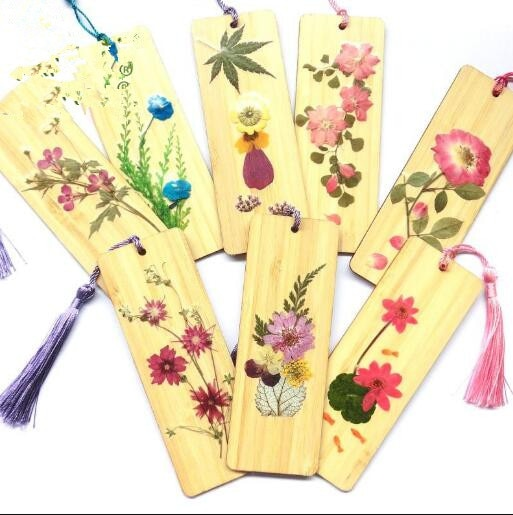 Paquete de flores secas flores prensadas manualidades flores preservadas para DIY marcapáginas Regalo de Cumpleaños premio