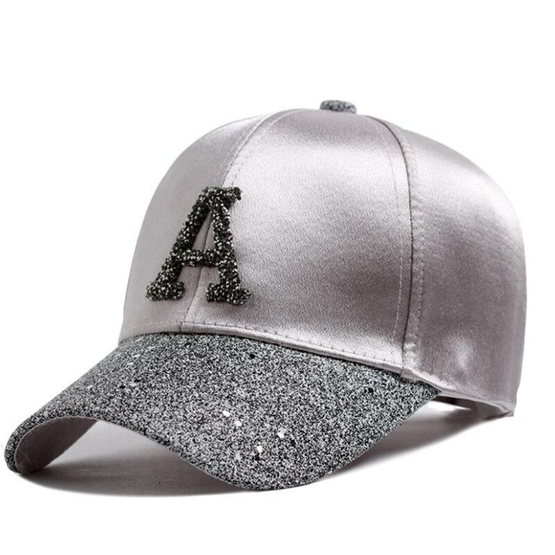 Модная женская бейсболка в стиле хип-хоп, летняя детская шляпа от солнца со стразами и надписью, однотонные бейсболки для мальчиков и девочек, детские шапочки для родителей