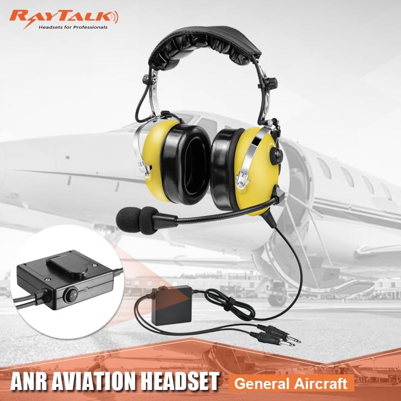 Auriculares para aviación auriculares para piloto, cancelación activa de ruido, almohadillas cómodas para los oídos, excelente sonido, entrada MP3, alta calidad