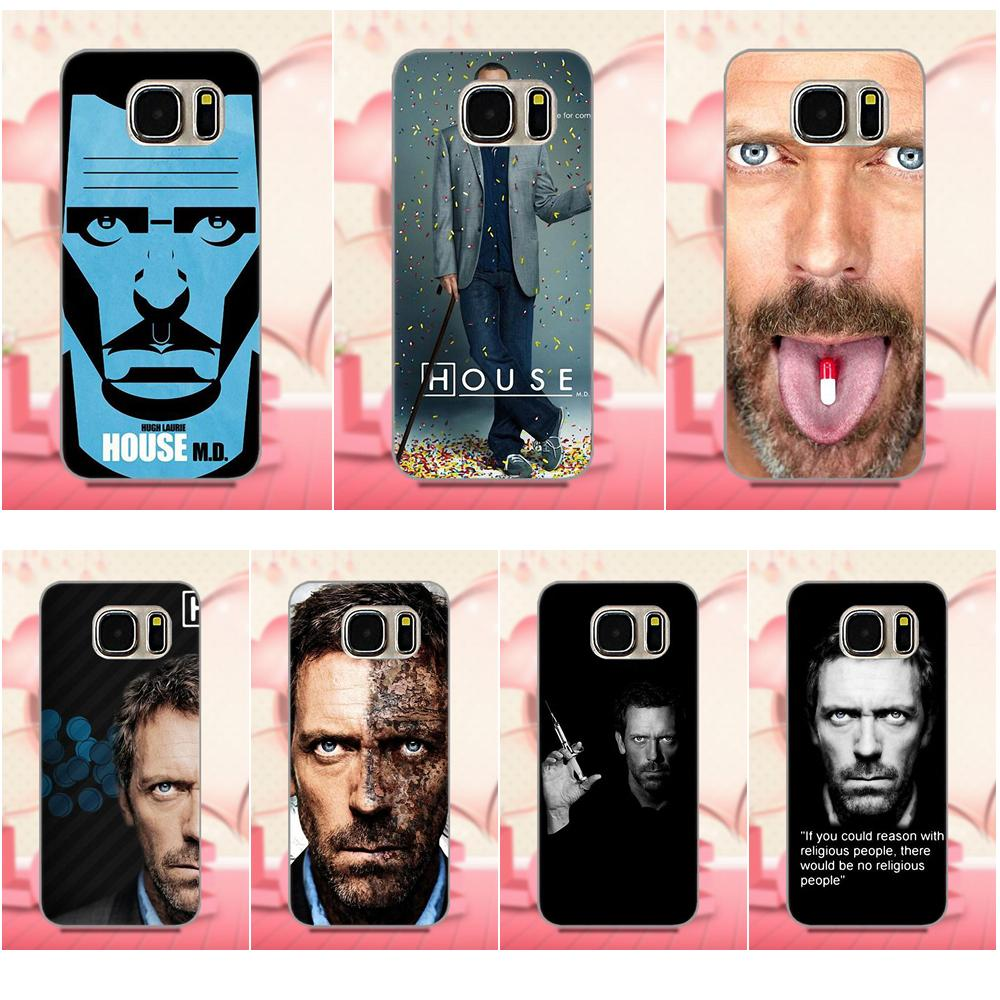 Dr House Religion Hugh Laurie House Md для Samsung Galaxy A3 A5 A7 J1 J3 J5 J7 2016 2017 S5 S6 S7 S8 S9 edge Plus Мягкий чехол