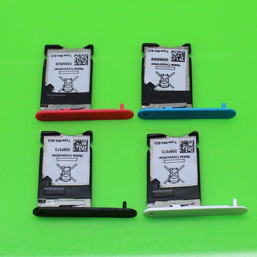 ChengHaoRan 1 PC nuevo 4 modelos sim tarjeta lector titular ranura para conector Nokia N900.