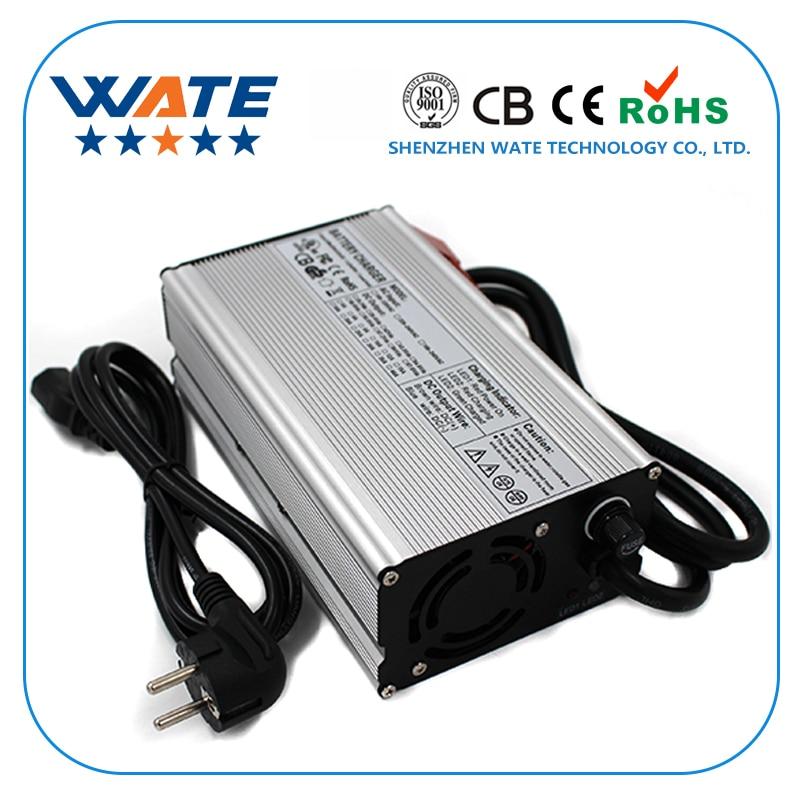 29,2 V 20A зарядное устройство 8S 24V LiFePO4 зарядное устройство для аккумулятора ebike баланс EV зарядное устройство алюминиевый корпус