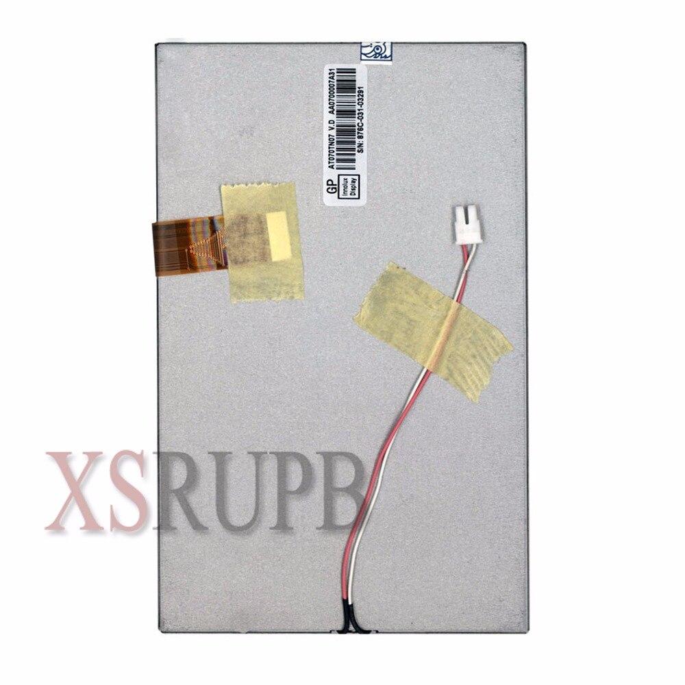 شاشة TFT LCD مقاس 7 بوصات A070FW03 V1 V2 V3 A070FW03 V.1 ، مشغل DVD للسيارة ، GPS/قارئ الكتب الإلكترونية