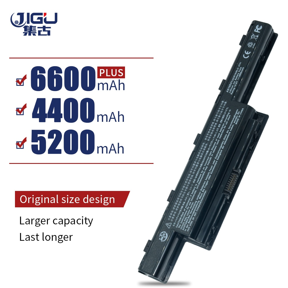 JIGU Laptop Battery For GATEWAY NV47H NV49C NV51B NV51M NV53A NV55C NV59C NV73A NV79C For Acer For Aspire 5253 5741G 4741G