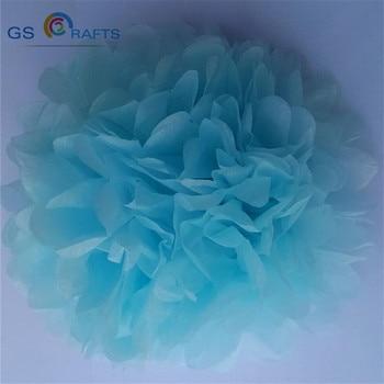 party 30pcs 6inch=15cm Tissue Paper Pom Poms Paper Flowers Ball pompom wedding Birthday Decoration Parties