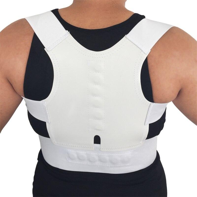 Cinturón magnético para corrección de postura, soporte de postura para hombros, espalda, corrección de postura de espalda, AFT-B001 para sujetador de postura y cinturón Lumbar