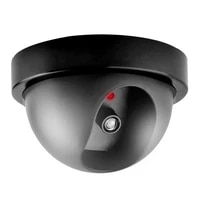 Fausse camera de securite dome interieure exterieure avec clignotant  pour maison