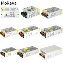 Adaptateur AC 110V 220V à DC, 12 V, 2A 3A, 5A, 10A 15A, 30A, alimentation à commutation pour transformateur de courant