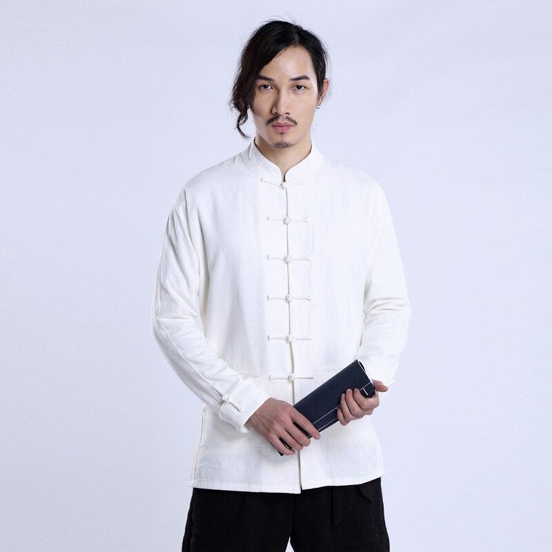 2019 nueva marca de estilo italiano chaqueta de lino tradicional y moderna para hombre chaquetas de lino blanco sólido tops masculinos primavera casual outwear jas