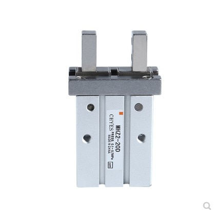 mhz2 10dn pneumatic pneumatic smc finger parallel open double acting air claw the installation hole of mhz2 10d is different HFZ MHZ2 10D 16D 20D 25D 32D 40D Double Acting Air Gripper Pneumatic Finger Cylinder SMC Type Aluminium Clamps Bore 10-40mm