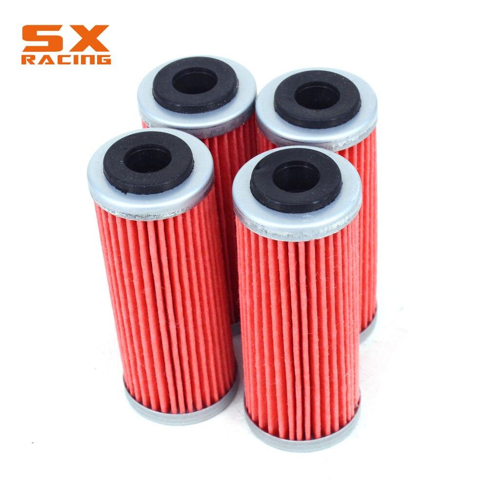Мотоцикл 4 шт. очиститель масляного фильтра для KTM EXCF SXF XCF XCFW SMR XCW XCRW 250 300 350 400 450 505 530 FE250 FE350 FC350
