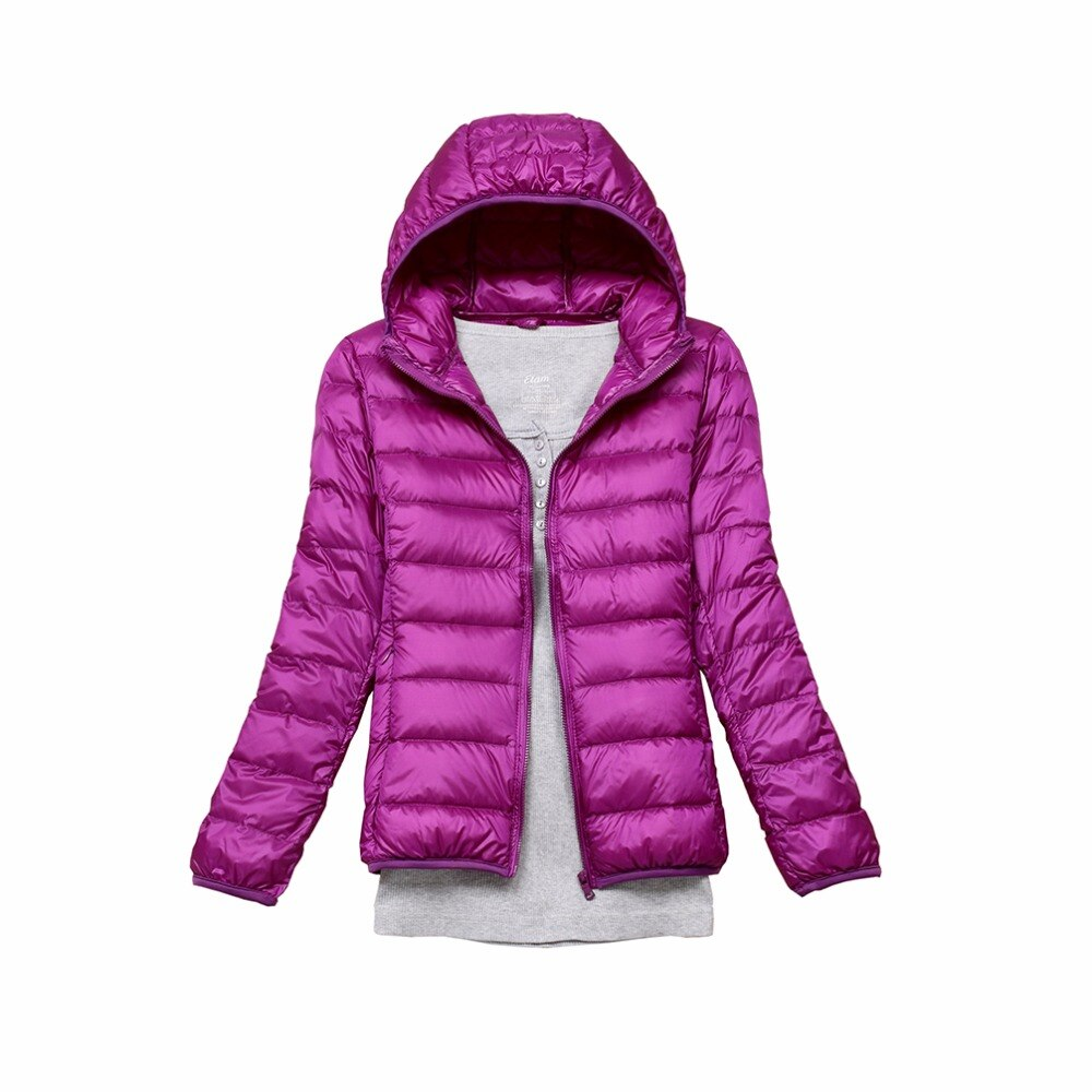 Winter Down Jacket Women Autumn Hooded 90% White Duck Coats Women Parka Ultra Light Down Warm Coat Women's Parka Down 11 colors